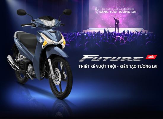Honda Việt Nam chính thức giới thiệu Honda Future FI 125cc mới: Thiết kế vượt trội – Kiến tạo tương lai!