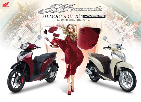 Giới thiệu SH Mode 125cc mới với ABS – Lái tự tin, chuẩn phong thái