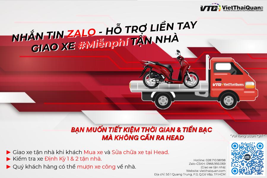 Zalo Honda Việt Thái Quân 3- Kênh chăm sóc khách hàng hàng đầu về Dịch vụ xe máy tại Gò Vấp