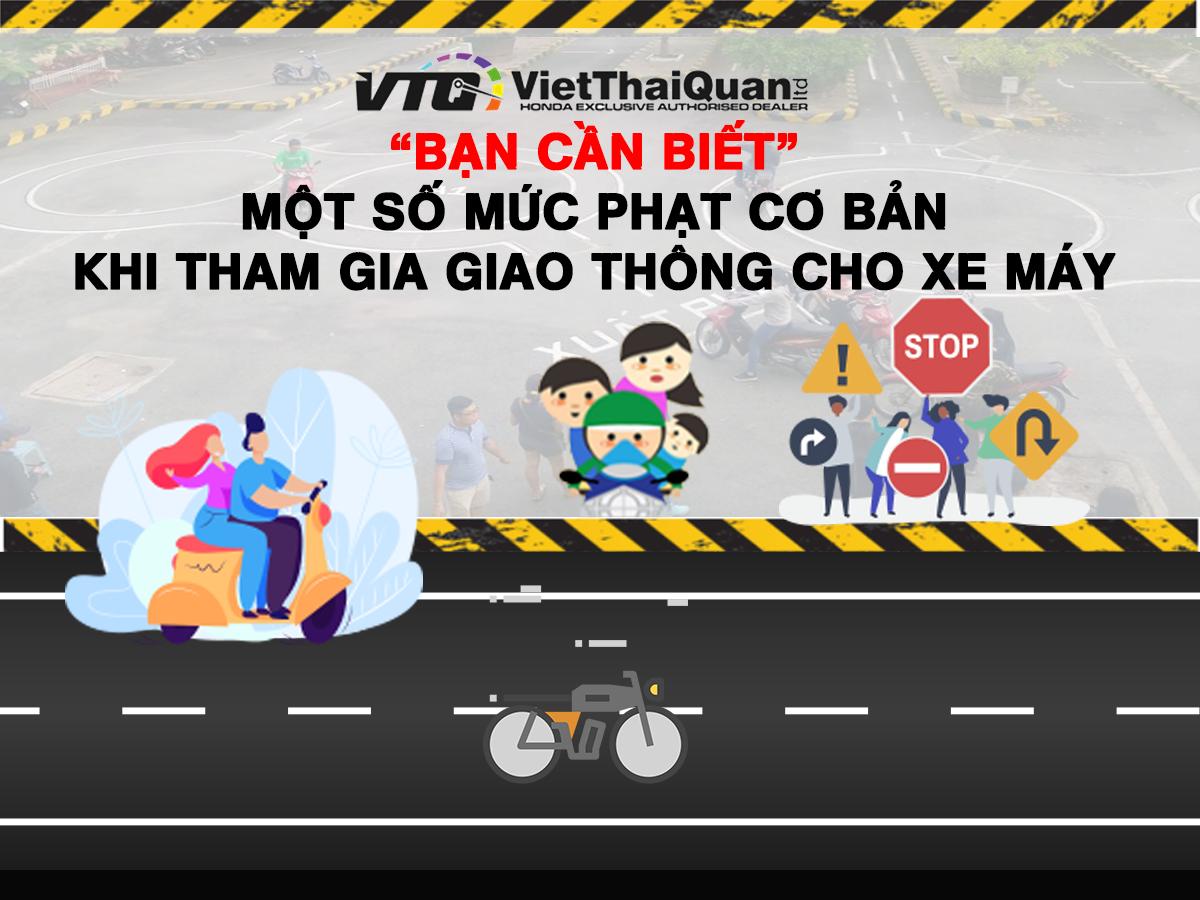 lỗi khi đi xe máy